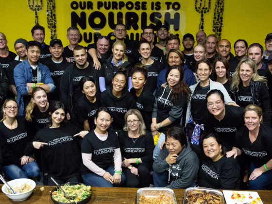 The Aaron Sansoni Foundation - group photo