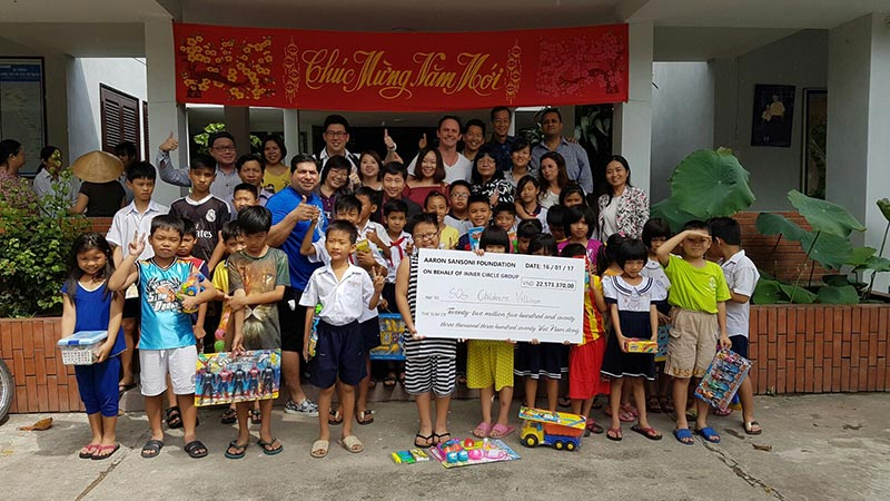 Aaron Sansoni Foundation-donation-vietnam-charity-children